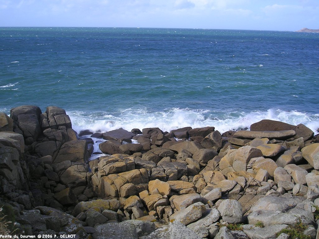 La Pointe Du Dourven  Bretagne